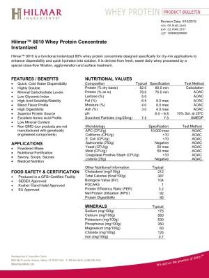 HILMAR WPC 80%